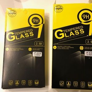 Unipha iPhone glass screen protector pack of 3